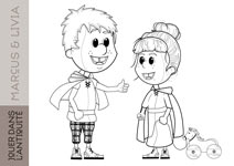 coloriage marcus et livia small