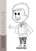 coloriage marcus small